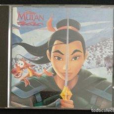 CDs de Música: CD 1998 - DISNEY MULAN BANDA SONORA EN CASTELLANO - 15 TEMAS - STEVIE WONDER, MALÚ, MARÍA CANEDA, ET. Lote 220841531