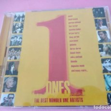 CDs de Música: ONES THE BEST NUMBER ONE ARTISTS - 2 CD QUEEN BLUR GENESIS DEPECHE MODE TINA TURNER BLONDIE... Lote 220849116