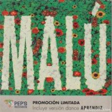 CDs de Música: MALU - APRENDIZ (CD SINGLE PROMOCIONAL 1 TEMA PEP'S RECORDS 1998) ALEJANDRO SANZ. Lote 220852827