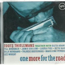 CDs de Música: CD TOOTS THIELEMANS-ONE MORE FOR THE ROAD.2006.. Lote 220855696