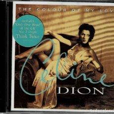 CDs de Musique: CELINE DION - THE COLOUR OF MY LOVE - CD ALBUM DE 1993 RF-8001 , BUEN ESTADO. Lote 220898695