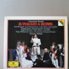 CD de Música: IL VIAGGIO A REIMS-GIOACCHINO ROSSINI-KATIA RICCIARELLI-RUGERO RAIMONDI-CLAUDIO ABBADO-DEUSTZCHE GRA. Lote 220944455