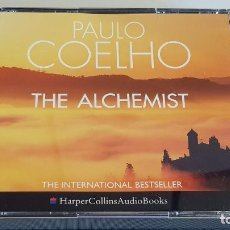 CDs de Música: PAULO COELHO / THE ALCHEMIST / HARPER COLLINS AUDIOBOOKS / BOX-3 CDS / AUDIOLIBRO EN INGLÉS.. Lote 220947933