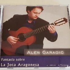 CDs de Música: ALEN GARAGIC / FANTASÍA SOBRE LA JOTA ARAGONESA / CD - POEMA / IMPECABLE.. Lote 220949906