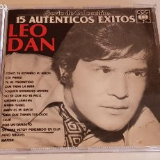 CDs de Música: LEO DAN / 15 AUTÉNTICOS ÉXITOS / SERIE DE COLECCIÓN / CD - CBS-USA-1987 / IMPECABLE.. Lote 220950861