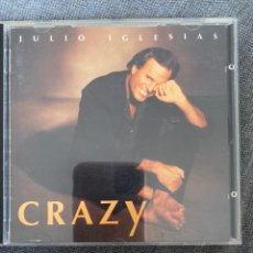 CDs de Música: CD JULIO IGLESIAS. CRAZY. Lote 220958587