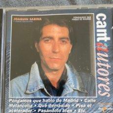 CDs de Música: CD JOAQUIN SABINA. Lote 220961040