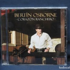 CDs de Musique: BERTIN OSBORNE - CORAZON RANCHERO - CD. Lote 220975168
