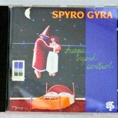 CDs de Música: CD SPYRO GYRA , DREAMS BEYOND CONTROL, GRP, 1993, GRP 97432. Lote 220980426