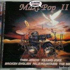 CDs de Música: MAXI POP II, DOBLE, 2 CD, CONTRASEÑA RECORDS, 1995, ELECTRONIC, SYNTH-POP. Lote 220988200
