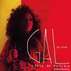 CDs de Musique: GAL COSTA – A PELE DO FUTURO AO VIVO- 2 CD - NUEVO Y PRECINTADO. Lote 244587685