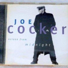 CDs de Música: CD JOE COCKER , ACROSS FROM MIDNIGHT, EMI, 1997, 7243 8 59352 2 6. Lote 220992261