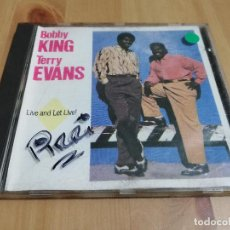 CDs de Música: LIVE AND LET LIVE! (BOBBY KING & TERRY EVANS) CD. Lote 221006336
