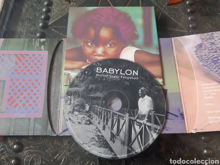 "CDs de Música: BABYLON. WALTER ""GAVITT"" FERGUSON. España. - Foto 2 - 221087473"
