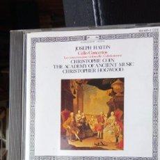CDs de Música: JOSEPH HAYDN - CELLO CONCERTS. Lote 221095360