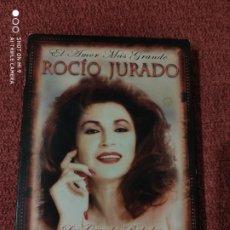 CDs de Música: LAS MEJORES BALADAS ROMÁNTICAS, 2009 CONMEMORACIÓN 3 ANIVERSARIO MUERTE ROCÍO JURADO.. Lote 221123136