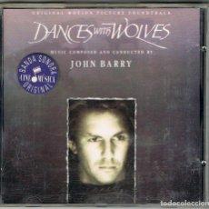 CDs de Música: DANCES WITH WOLVES (BAILANDO CON LOBOS), VER EL DORSO. Lote 221126582