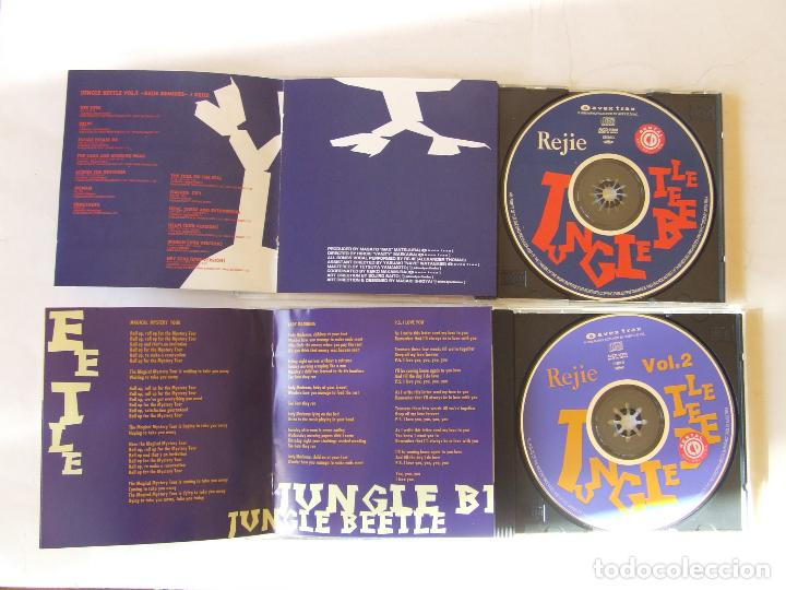 CDs de Música: 2 CDs JAPON REJIE JUNGLE BEETLE VOL. 1 Y 2 COVERS VERSIONES BEATLES REGGAE DUB RARO CON OBI - Foto 3 - 221148198
