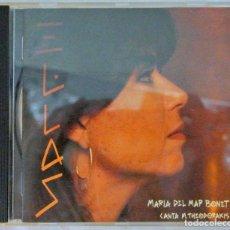 CDs de Música: CD MARIA DEL PÌLAR BONET , ELLAS, ARIOLA , 1993, 74321 14668 2 (9A). Lote 221148623