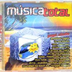 CDs de Música: CD MUSICA TOTAL, RECOPILATORIO, PACIFIC MUSIC, 2003, CDP-1097, 8430526910972. Lote 221151213