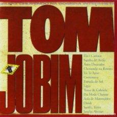 CDs de Música: GRUPO CHOVENDO NA ROSEIRA - INTERPRETA TOM JOBIM - NUEVO Y PRECINTADO. Lote 221154401