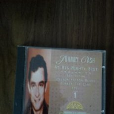 CDs de Música: JOHNNY CASH - AT HIS MIGHTY BEST. Lote 221159426