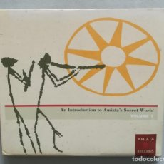 CDs de Música: AN INTRODUCTION TO AMIATA'S SECRET WORLD VOL. 1. Lote 221262725