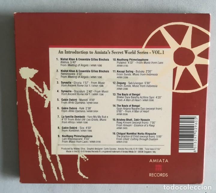 CDs de Música: An Introduction to Amiatas Secret World vol. 1 - Foto 3 - 221262725