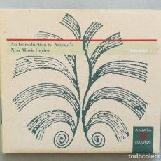 CDs de Música: AN INTRODUCTION TO AMIATA'S NEW MUSIC SERIES VOL. 1. Lote 221263495