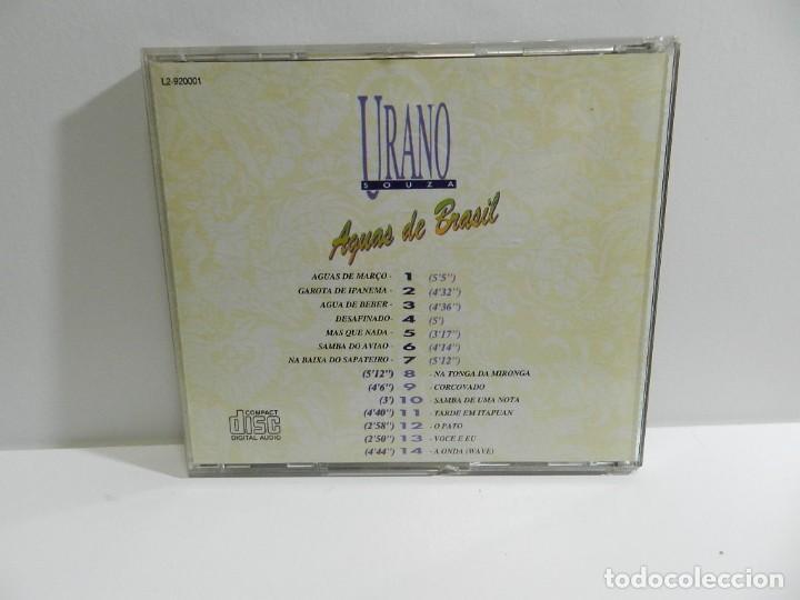 CDs de Música: DISCO CD. URANO SOUZA - AGUAS DE BRASIL. COMPACT DISC. - Foto 2 - 221279257