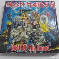 CDs de Música: CD METAL/IRON MAIDEN/BEST OF THE BEST/DOBLE CD.. Lote 221283141