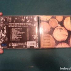 CDs de Música: FOLK 5 -CD- XESCO BOIX-JAUME ARNELLA-JORDI PUJOL-MANUEL JOSEPH-IA I BATISTE-GRUP EL SAC-FALSTERBO 3. Lote 221286843