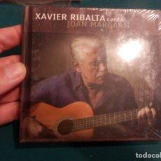 CDs de Música: XAVIER RIBALTA CANTA JOAN MARGARIT - CD LIBRO - ACTUAL RECORDS - TROBADORS I JUGLARS (PRECINTADO). Lote 221288162