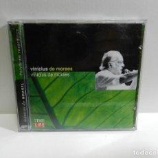 CDs de Música: DISCO CD. VINICIUS DE MORAES - VINICIUS DE MORAES. COMPACT DISC.. Lote 221291212