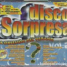 CDs de Música: 3 CD,S + DVD DISCO SORPRESA VOL.2.2004.. Lote 221305906