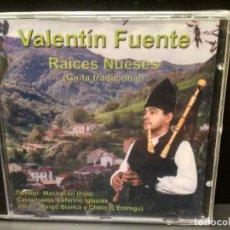 CDs de Música: VALENTIN FUENTE RAICES NUESES GAITA TRADICIONAL CD ALBUM ASTURIAS PEPETO PRECINTADO. Lote 221309063
