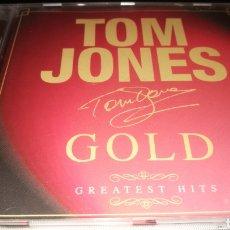 CDs de Música: TOM JONES , GOLD. Lote 221313467