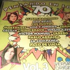 CDs de Música: PENSANDO EN LOS 70 , VOL.3. Lote 221313656