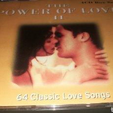 CDs de Música: THE POWER OF LOVE 2 - 64 CLASSIC LOVE SINGS. Lote 221315728