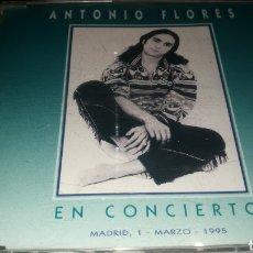 CDs de Música: ANTONIO FLORES , 1 DE MARZO DE 1995 , MADRID. Lote 221315828
