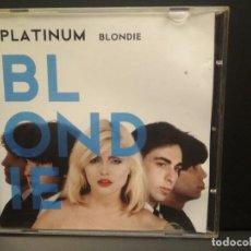 CDs de Música: BLONDIE PLATINUM CD ALBUM EMI 2008 PEPETO. Lote 221316925