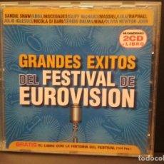 CDs de Música: GRANDES EXITOS DEL FESTIVAL DE EUROVISION DOBLE CD PEPETO. Lote 221318795
