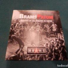 CDs de Música: BRAMS DE PATUM - VERSIONS DE LES CANÇONS DE PATUM - CD (BERGA). Lote 221326622