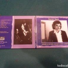 CDs de Música: XAVIER BARÓ - SENTADO EN LA LENTA ATMÓSFERA DE LA CONFUSIÓN - CD DIGIPACK 8 TEMAS - PHONO REBEL 1996. Lote 221327173