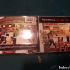 CDs de Música: RICHARD HAWLEY - LATE NIGHT FINAL - CD 11 TEMAS - SETANTA RECORDS 2001. Lote 221327687