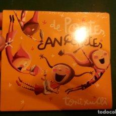 CDs de Música: TONI XUCLÀ - DE POETES, CANÇONETES - CD DIGIPACK 16 TEMAS EN CATALÀ (COL. TXARANGO-PROJECTE MUT..). Lote 221328230
