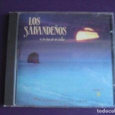 CDs de Música: LOS SABANDEÑOS - CD ZAFIRO 1990 - A LA LUZ DE LA LUNA - MELODICA CANARIAS -. Lote 221332445