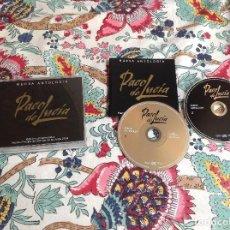CDs de Música: CD PACO DE LUCIA EDICIÓN CONMEMORATIVA PRINCIPE ASTURIAS 2004. Lote 221338701