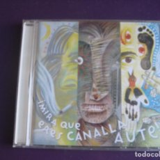 CDs de Música: MIRA QUE ERES CANALLA, AUTE - CD ARIOLA 2000 - 18 VERSIONES SABINA - ROSENDO - SERRAT - JOSE MERCE. Lote 221344416