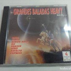 CDs de Música: CD METAL/GRANDES BALADAS HEAVY/SANTA-ÑU-PANZER.. Lote 221344996